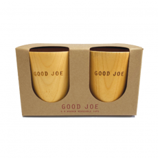Good Joe wooden cup 4pk